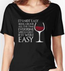 Drunk Women's Relaxed Fit T-Shirt