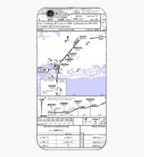 Aviation Chart KJFK - New York iPhone Case