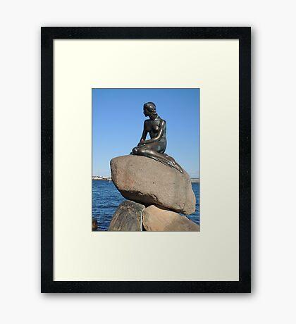 Emotional Depths: The Little Mermaid (Copenhagen) Framed Print