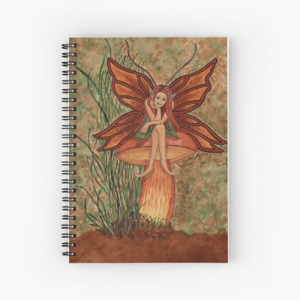 Cep Shroom Fae Spiral Notebook