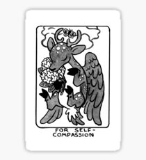 Sigil For Self-Compassion Sticker