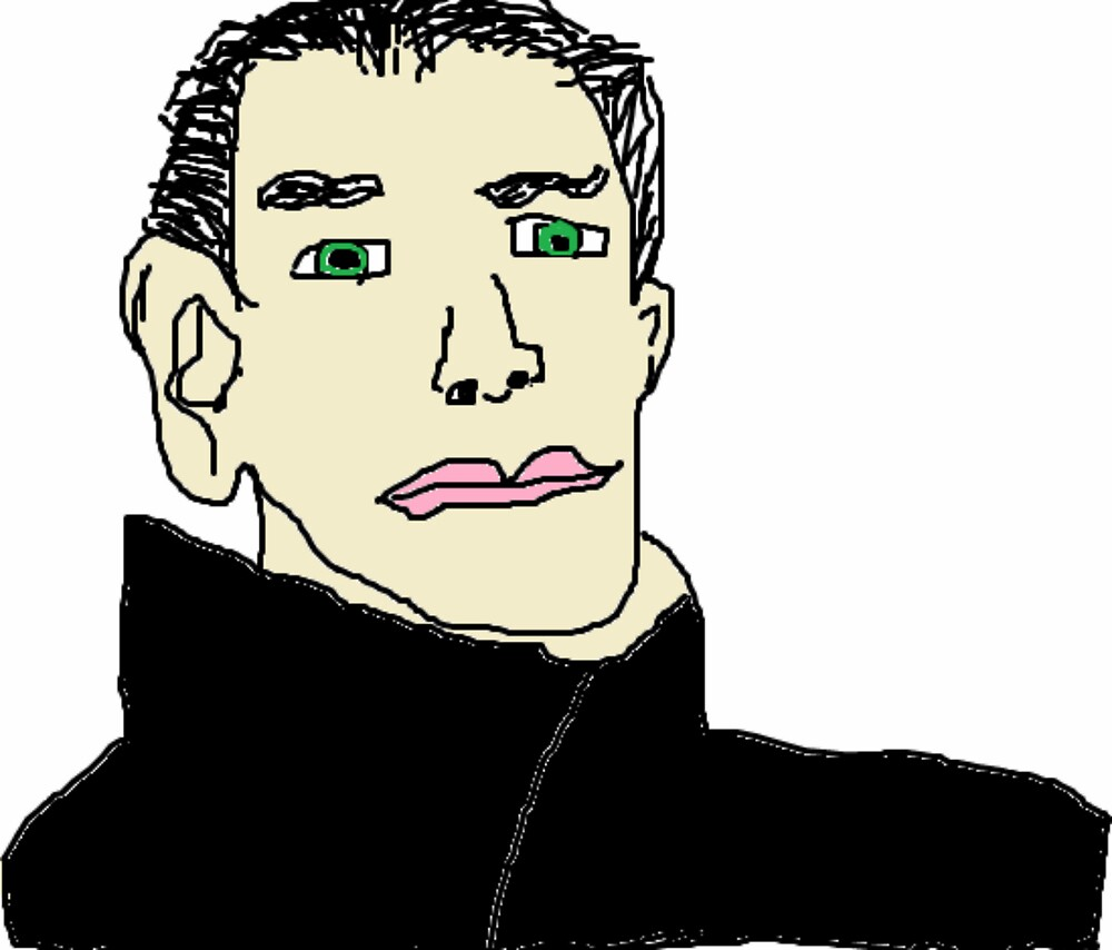 Benedict Cumberbatch by sqreetgirl