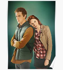 Rory and Amy - 'The Doctor's Wife' (Doctor Who) Poster