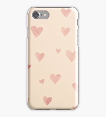 Paper Hearts iPhone Case/Skin
