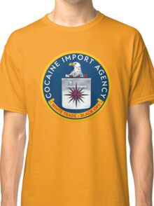 CIA (Cocain Import Agency) Classic T-Shirt