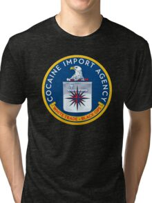 CIA (Cocain Import Agency) Tri-blend T-Shirt