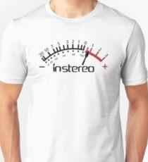 InStereo Meter (black over white) Unisex T-Shirt