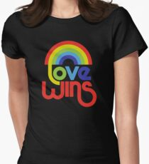 Love Wins  Women's Fitted T-Shirt