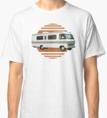 Vintage RV Travel Retro Orange Motorhome Travelling Classic T-Shirt