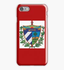 Cuban Coat of Arms If you like, please purchase, try a cell phone cover thanks iPhone Case/Skin