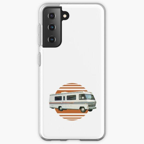 Vintage RV Travel Retro Orange Motorhome Travelling Samsung Galaxy Soft Case