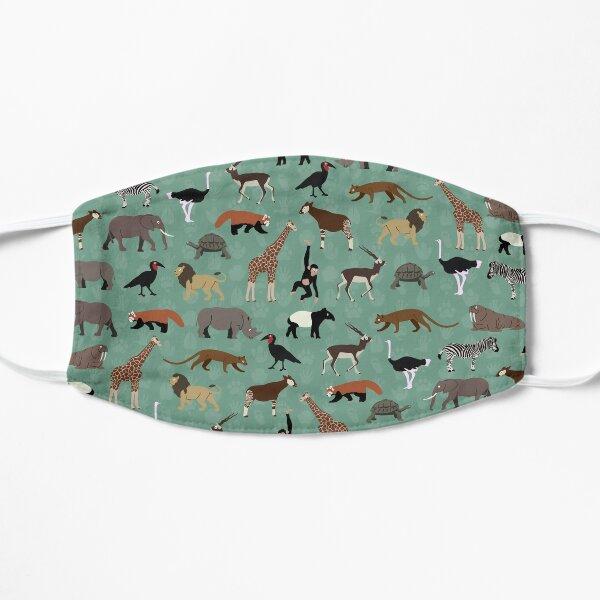 Teeny Tiny Zoo Flat Mask