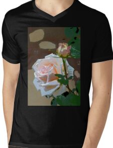 Rose 112 Mens V-Neck T-Shirt