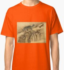 Shen Nanpin - Album Of Birds And Animals (Qilin). Forest view: forest , trees,  fauna, nature, birds, animals, flora, flowers, plants, field, weekend Classic T-Shirt