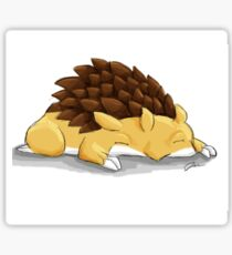 Sleeping Sandslash Sticker