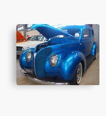 Blue Cruiser Canvas Print