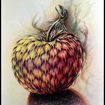 Dragon Apple by Unicornuss