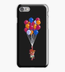 Crono and Marle - Balloon Celebration - Chrono Trigger sprite iPhone Case/Skin