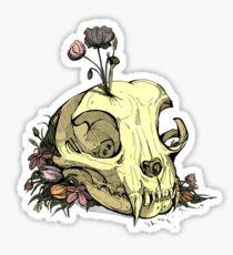 Little Skull Colour Sticker