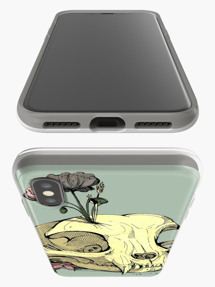 Alternate view of Little Skull Colour iPhone Case & Cover