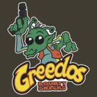 GREEDOS Bounty Snacks by Blair Campbell