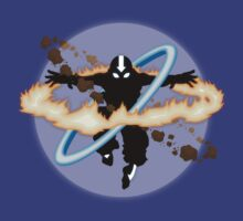 Aang going into uber Avatar state | Unisex T-Shirt