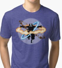 Aang going into uber Avatar state Tri-blend T-Shirt