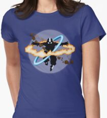 Aang going into uber Avatar state Women's Fitted T-Shirt