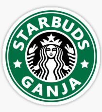 Starbuds Ganja Sticker