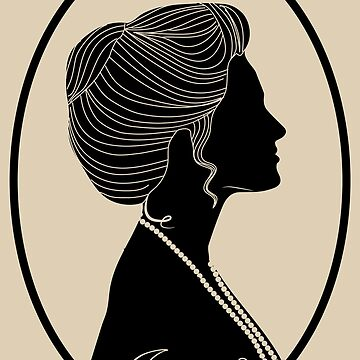 Somewhere in Time Silhouette Elise McKenna by hollie13