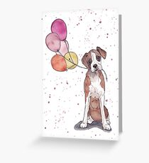 Birthday Boxer Greeting Card
