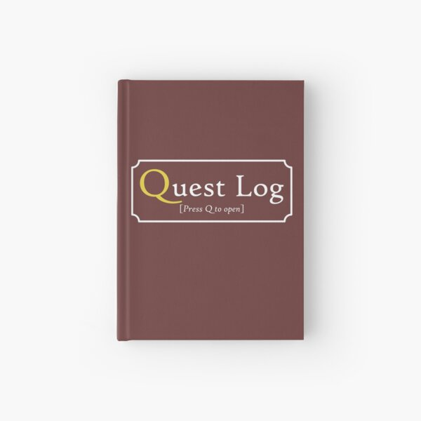Quest Log Hardcover Journal