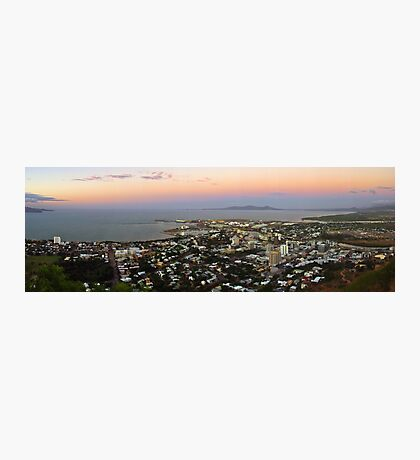 Townsville at Sunset  Photographic Print