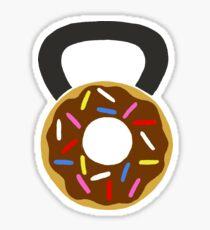 Pegatina Donut Kettlebell