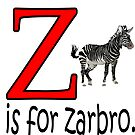 Funny Alphabet: Z is for Zebra by tommytidalwave