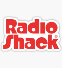 Pegatina Old Radio Shack Logo
