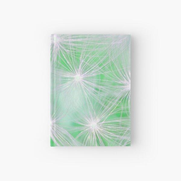 Dandelion abstract Hardcover Journal