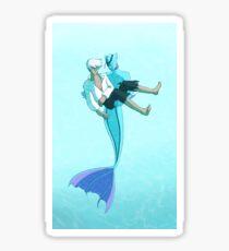 The Little Merman Sticker