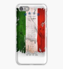 Italy Flag World Cup 2014 iPhone Case/Skin