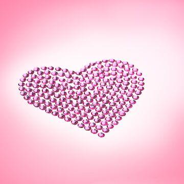 Pink Heart by 3523studio
