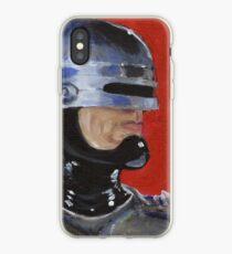 Retro Robocop iPhone Case
