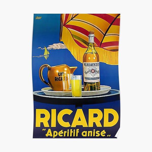 RICARD APERITIF ANIS Poster