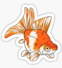 Fancy Goldfish - Butterflytail Sticker