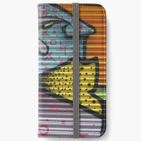 graffiti - patterns and corrugated iron iPhone Wallet