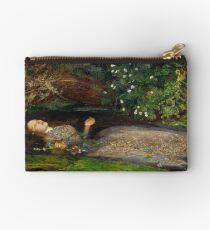 Ophelia - John Everett Millais - 1852 Studio Pouch
