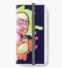 Blue Human iPhone Wallet/Case/Skin