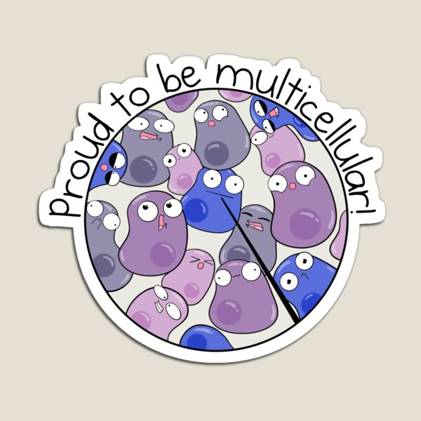 Proud to be Multicellular Magnet