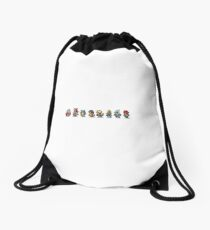 Final Fantasy IX (All sprites) Drawstring Bag