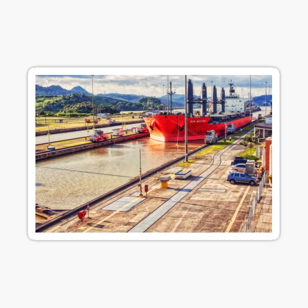 Panama Canal Sticker