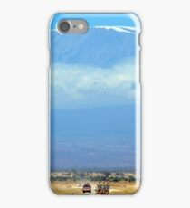 Mount Kilimanjaro iPhone Case/Skin